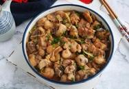Gà hấp nấm thơm phức đậm đà cho bữa tối mùa đông thêm ngon cơm