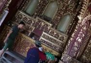 Nhà thờ cổ bị kẻ gian đột nhập, đánh cắp kiệu vàng 120 năm tuổi