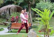 Bố con nhà Tự Long tới thăm biệt thự nhà vườn của Xuân Bắc, lộ không gian đẹp như ở nước ngoài