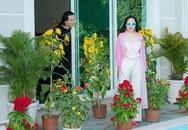 Quách Ngọc Ngoan bày hàng chục chậu hoa khắp biệt thự
