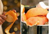 Ăn cam xong đừng vội vứt vỏ đi, hãy bỏ nó ra vườn điều kì diệu sẽ xảy ra sau một đêm