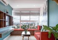 Căn hộ 80m² đẹp thanh lịch với điểm nhấn màu xanh sang chảnh sau cải tạo ở TP. HCM
