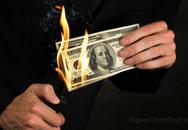 Đốt 750.000 USD để tránh chu cấp nuôi con
