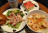 Ba bữa ăn trên du thuyền bị cách ly