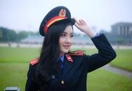 Ngắm vẻ đẹp lấp lánh của hot girl Đại học Kiểm sát Hà Nội