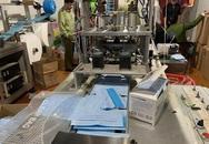 Hải Phòng: Phát hiện xưởng sản xuất khẩu trang y tế trái phép
