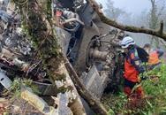 Trực thăng chở tướng Đài Loan rơi vì sương mù