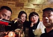 Ảnh Tóc Tiên ăn Tết cùng bạn trai Hoàng Touliver ở Hà Nội