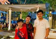 Con trai Kim Thư - Phước Sang cao lớn điển trai