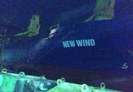 Hải Phòng: Cháy tàu ở công ty Đóng tàu Phà Rừng