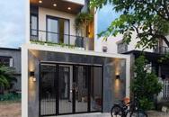 Nhà phố 2 tầng được thiết kế ấn tượng với khoảng thông tầng nhiều ánh sáng ở Đà Nẵng