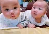 Cặp song sinh má bánh bao nhà Trương Nam Thành
