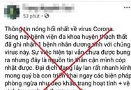 Xử phạt một trường hợp đăng tin sai sự thật về dịch viêm phổi do virus corona