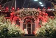 Lâu đài lộng lẫy như cổ tích trong không gian tiệc cưới của cầu thủ Duy Mạnh