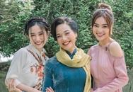 Lan Ngọc, Jun Vũ thân thiết NSND Lê Khanh