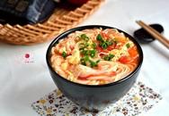 Mỳ cà chua trứng, nấu thế nào cho đạt độ sang chảnh?