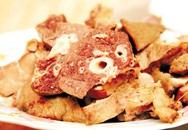 Những phần bẩn nhất của lợn, chứa đầy vi khuẩn nhưng nhiều người vẫn thích ăn