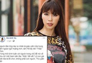 Siêu mẫu Hà Anh bất ngờ đăng đàn tố giáo viên người nước ngoài coi thường phụ nữ Việt