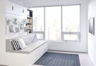 Nội thất thông minh giúp ngôi nhà nhỏ tăng thêm 8m² không gian sinh hoạt