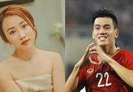 Diễn viên Huỳnh Hồng Loan đang tìm hiểu cầu thủ Tiến Linh