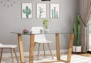 Bạn muốn có một phòng ăn đẹp tinh tế và hợp thời thì không thể bỏ qua 15 mẫu bàn ăn mặt kính dưới đây