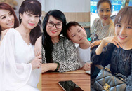 Ngỡ ngàng nhan sắc U60 trẻ trung  xinh đẹp của mẹ vợ Trấn Thành, Lý Hải, Minh Khang
