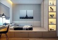 Tư vấn thiết kế căn hộ chung cư có diện tích 45m² với chi phí 128 triệu đồng