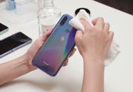 Vệ sinh smartphone đúng cách
