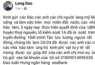 Hải Phòng: Xôn xao thông tin Bí thư chi bộ thôn kêu gọi ủng hộ vật chất và tuyển dụng người trực chốt dịch COVID-19