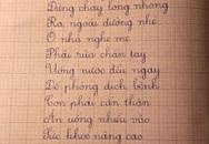 Lời nhắn nhủ xúc động của cô giáo gửi học trò trong dịch COVID-19