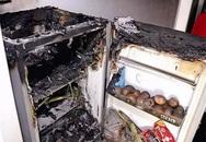 Tủ lạnh nổ tan tành vì thói quen bỏ lon nước ngọt có gas vào ngăn đá uống cho mát của nhiều người