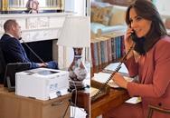 Vợ chồng Hoàng tử William - Công nương Kate vừa chỉ đạo ứng phó dịch vừa dạy con học
