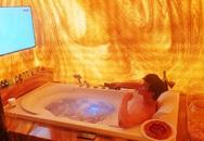 Phòng tắm dát vàng trong căn hộ triệu đô của Nathan Lee