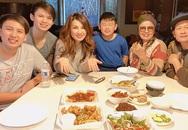 Vợ cũ Bằng Kiều nói điều tốt đẹp và thường xuyên đưa con đến gặp chồng cũ, thăm bà nội trong mùa dịch