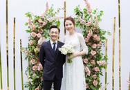 Tròn 1 năm kết hôn, Đàm Thu Trang lần đầu hé lộ loạt khoảnh khắc hiếm khoe cận nhan sắc cô dâu trong ngày theo chồng về dinh