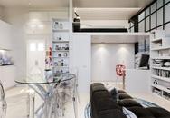 Chỉ vỏn vẹn 29m² nhưng căn hộ dưới đây vẫn gây thương nhớ với màu trắng tinh khôi cùng nội thất siêu tiết kiệm không gian