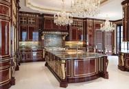 9 căn bếp giá tiền tỷ với nội thất dát vàng xa xỉ