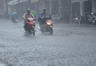 Hà Nội mưa to, mát cả 2 ngày cuối tuần