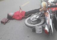 Sau va chạm giao thông, đôi nam nữ nằm sõng soài ra đường nhưng hành động của họ sau đó khiến dân mạng tranh cãi kịch liệt