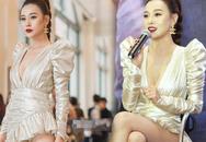 """Phương Oanh và nhiều người đẹp dễ """"lộ hàng"""" trên sân khấu, hay """"mỹ nam"""" Việt kém ga-lăng?"""