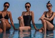 Hiếm hoi ảnh Tăng Thanh Hà, Tiên Nguyễn diện cùng nhau đi nghỉ, diện bikini