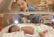 'Bà trùm hoa hậu' kể chuyện đưa con sinh non về nước giữa dịch