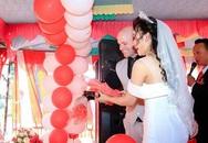 Lần gặp đầu bị 9X Quảng Ngãi úp đĩa đồ ăn, ngày cưới rể Mỹ chấp hết họ nhà gái