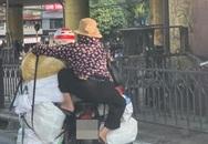 """Người phụ nữ khiến cả phố hiếu kì với dáng ngồi gây """"tức mắt"""", dân mạng đoán chung một cái kết"""