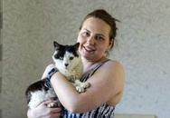 Mèo đi lạc 12 năm đoàn tụ với chủ