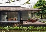 Mát mắt nhà mái tranh trên hồ nước của giám đốc Sài Gòn