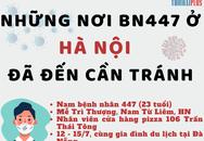 [Infographic] Những nơi bệnh nhân 447 ở Hà Nội đã đến người dân cần biết để phòng tránh