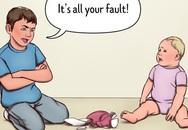5 lý do bạn không nên để con lớn trông em