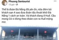 """Xử phạt hướng dẫn viên đăng tin đưa du khách """"tẩu thoát"""" khỏi Đà Nẵng"""