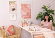 """Những ý tưởng trang trí góc làm việc màu hồng ngọt ngào và """"mát lạnh"""" dành cho các cô nàng đổi gió trong hè"""